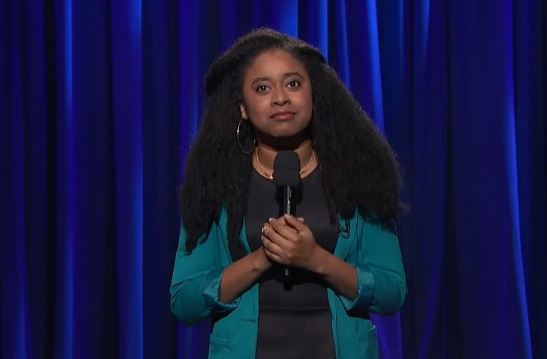 Phoebe Robinson on Late Night with Seth Meyers