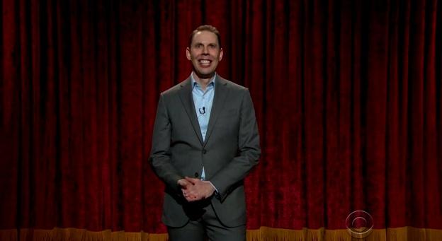 Ryan Hamilton on The Late Late Show