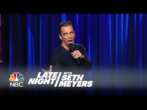 Sebastian Maniscalco on Late Night with Seth Meyers