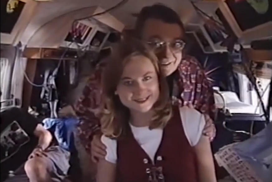 Scenes from a 1995 TV pilot starring Del Close, Amy Poehler and Matt Dwyer: RVTV