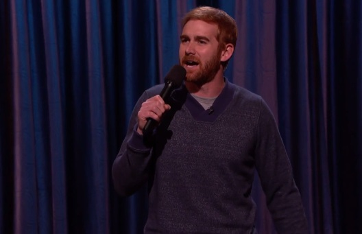 Andrew Santino on Conan