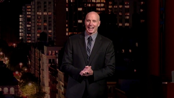 Brian Kiley on Late Show with David Letterman
