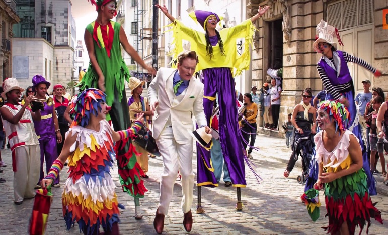 "Conan O'Brien shot a special ""Conan in Cuba"" episode that will air March 4, 2015"