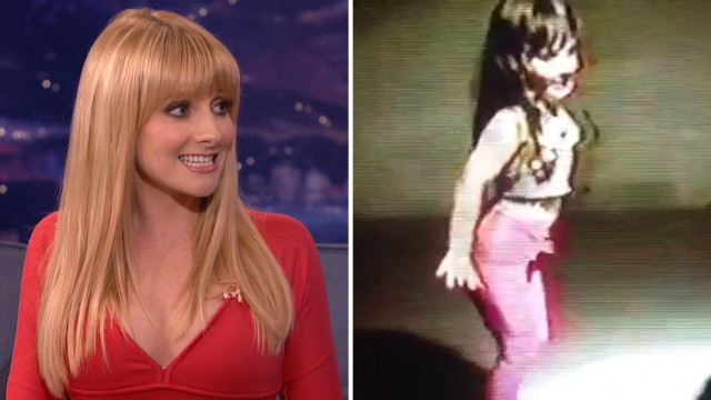 """Melissa Rauch performed """"Tits and Ass"""" from Chorus Line when she was 8 #tbt"""