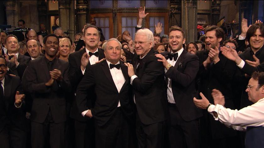Paying tribute to 40 years of Saturday Night Live, mostly thanks to Lorne Michaels