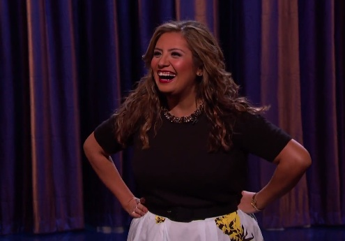"Cristela Alonzo on Conan, and on her last TV role before ""Cristela"""