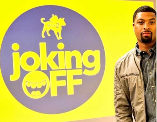 """MTV2 launches """"Joking Off"""" with DeRay Davis on April 1, 2015, with a crew of comedy improvisers"""