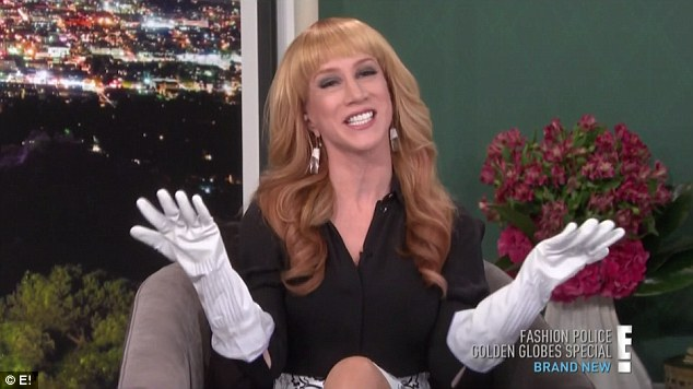 """Kathy Griffin quits E!'s """"Fashion Police"""" after seven episodes as host"""
