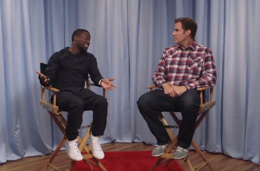 Watch Will Ferrell and Kevin Hart audition for each other's iconic TV/movie roles