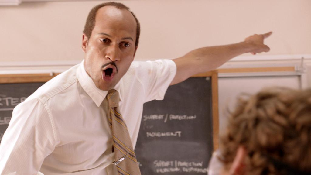 "Key & Peele giving ""Substitute Teacher"" Mr. Garvey the feature-film treatment"