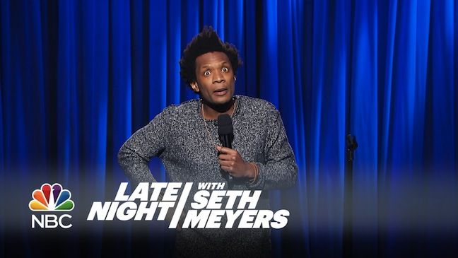 Seaton Smith on Late Night with Seth Meyers