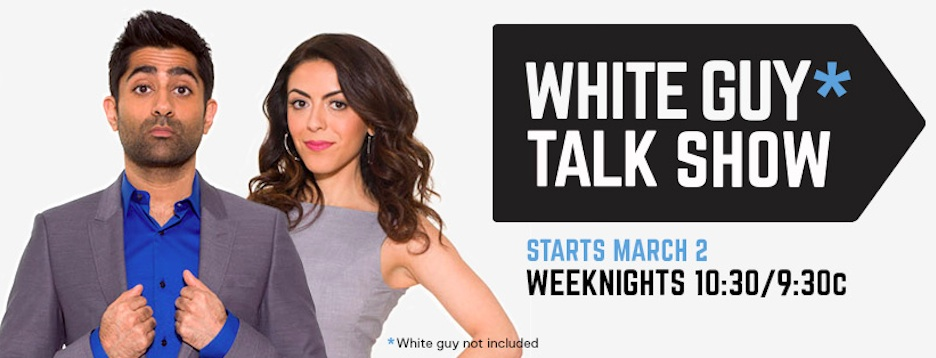 "Not just another ""White Guy Talk Show"" debuts late-night weeknights on Fuse"