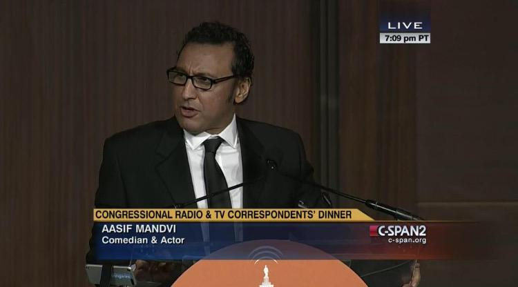 Aasif Mandvi's speech at the 2015 Congressional Radio and TV Correspondents' Dinner
