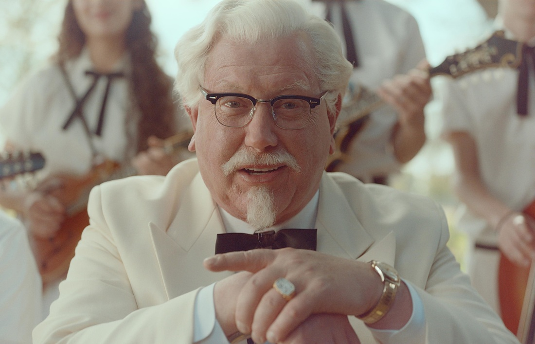 Darrell Hammond is now impersonating the late Colonel Sanders for KFC