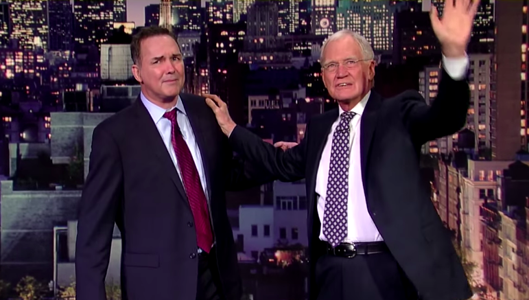Norm Macdonald's late-night tribute to David Letterman