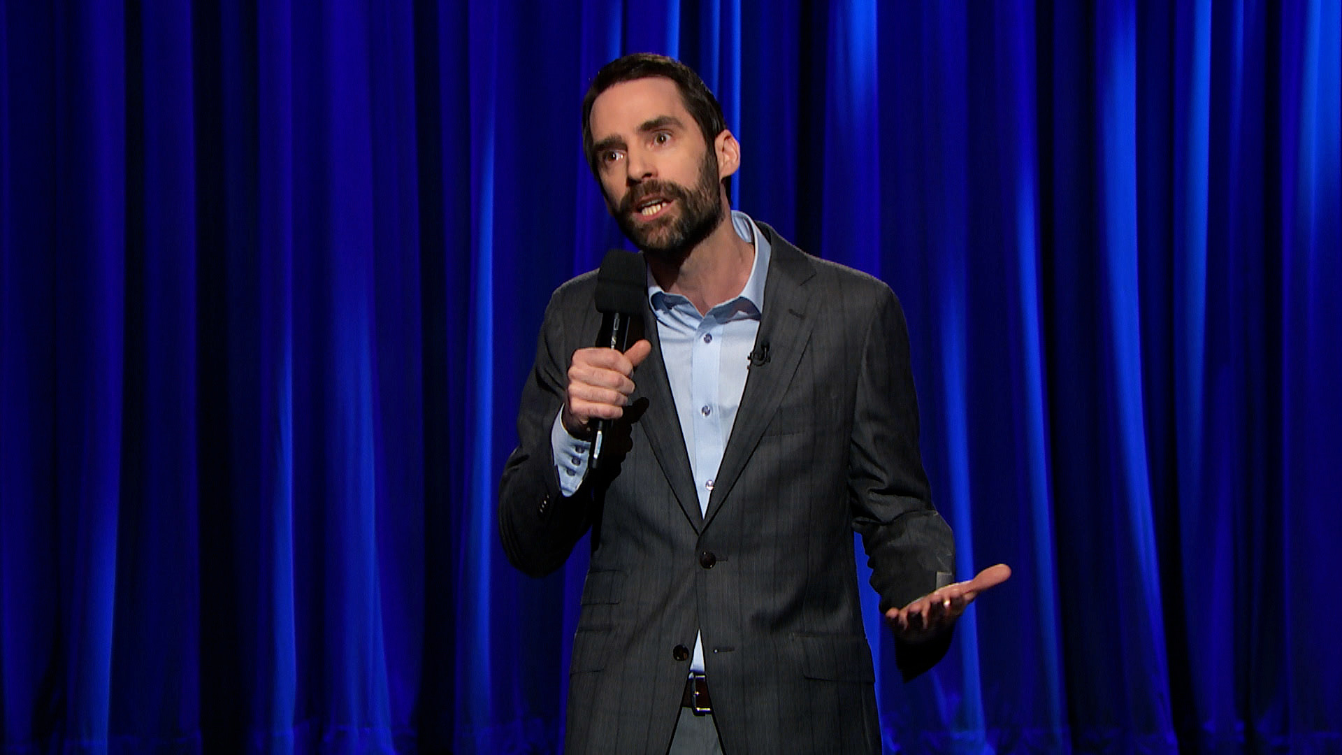 Phil Hanley on Late Night with Seth Meyers