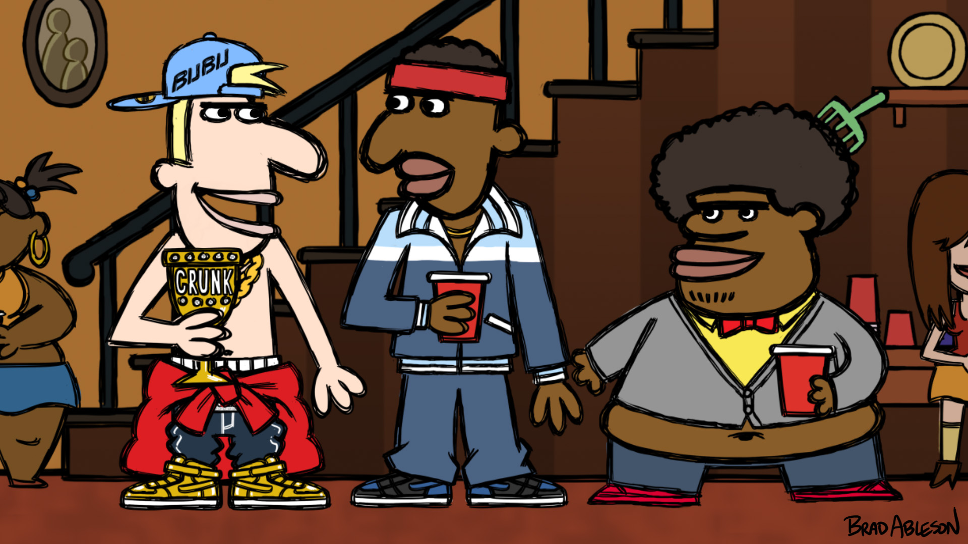 "Comedy Central greenlights 10 episodes of animated ""Legends of Chamberlain Heights"""