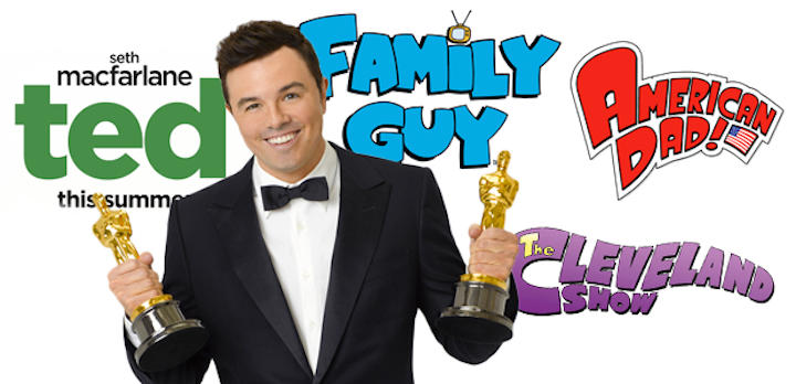 Broadcast TV Journalists Association giving Seth MacFarlane the Critics' Choice Louis XIII Genius Award