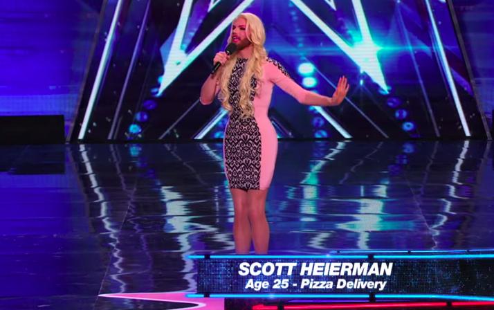 Scott Heierman's audition for America's Got Talent 10
