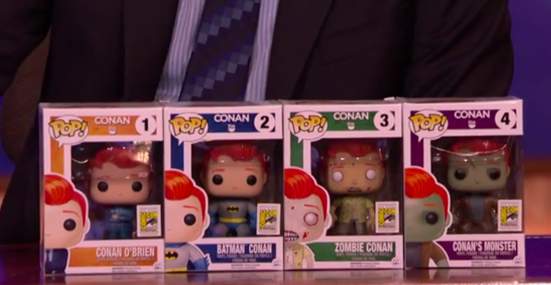 New Conan O'Brien Pop! Funko toys unveiled just in time for Comic-Con 2015