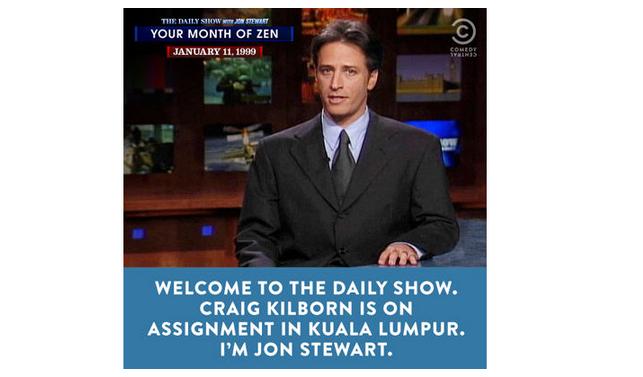 Comedy Central bids Jon Stewart fond farewell with epic online/audio marathon #JonVoyage