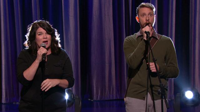 """Drennon Davis & Karen Kilgariff perform """"The High Song"""" on Conan"""