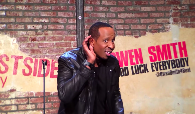 """Owen Smith shot his 2015 stand-up special using just 10 iPhones: """"Good Luck Everybody"""""""