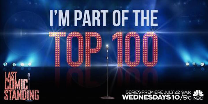 Here's some online onscreen time for some of the Top 100 you didn't see on Last Comic Standing in 2015