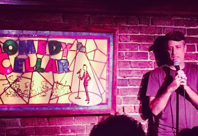 Jon Stewart's return to stand-up at The Comedy Cellar