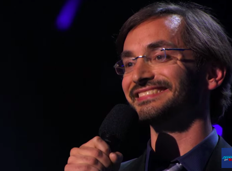 Myq Kaplan: Ready for his close-up on America's Got Talent 2015