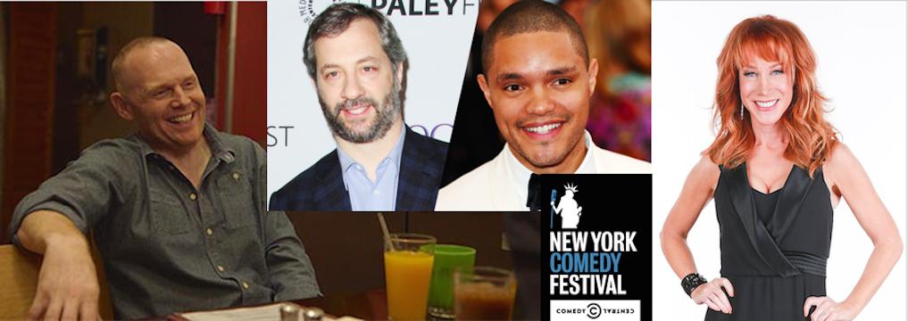 Bill Burr at MSG; Kathy Griffin, Judd Apatow at Carnegie Hall; Trevor Noah topline 2015 New York Comedy Festival