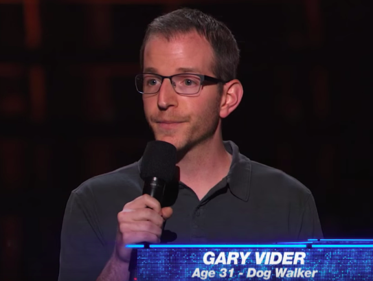 Gary Vider survives Judges Cut on America's Got Talent 2015