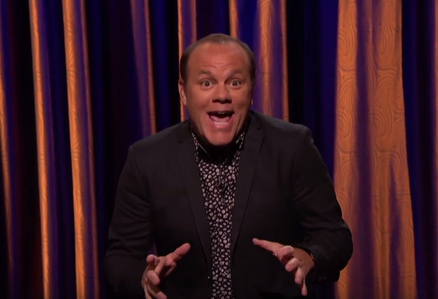 "Tom Papa on ""Conan"""