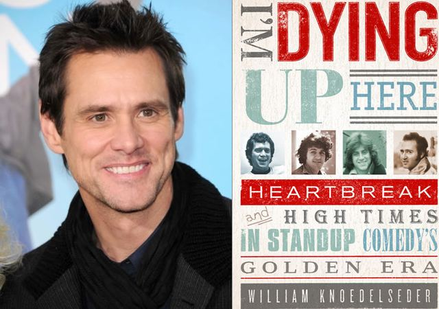 "Showtime giving Jim Carrey and Dave Flebotte a crack at adapting 1970s stand-up memoir, ""I'm Dying Up Here,"" as a series"