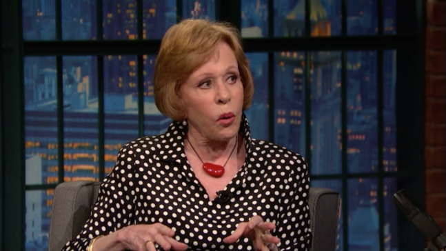 Carol Burnett recalls the advice Lucille Ball gave her about managing writers, producers