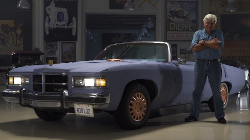 The Leno 501: Jay Leno's all-denim automobile