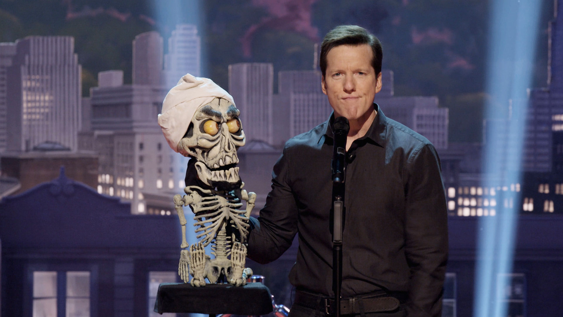 "Three questions following a viewing of Jeff Dunham's NBC primetime special, ""Unhinged in Hollywood"""