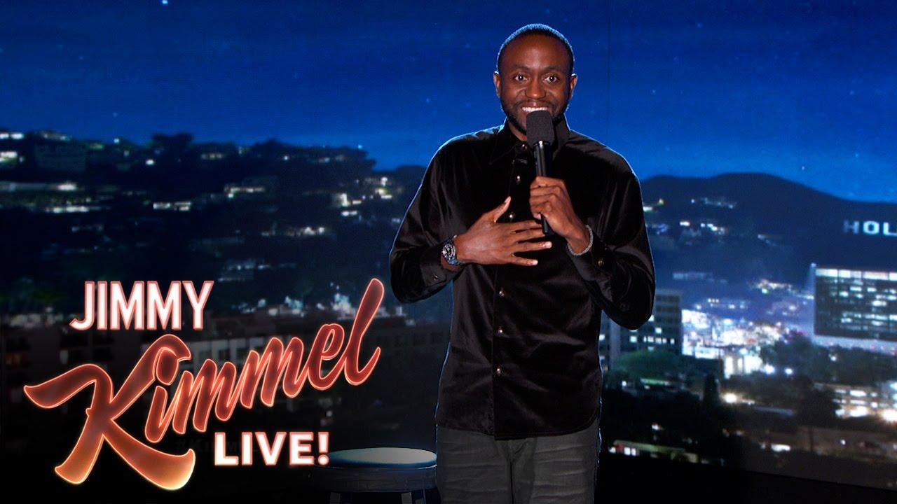 Byron Bowers on Jimmy Kimmel Live
