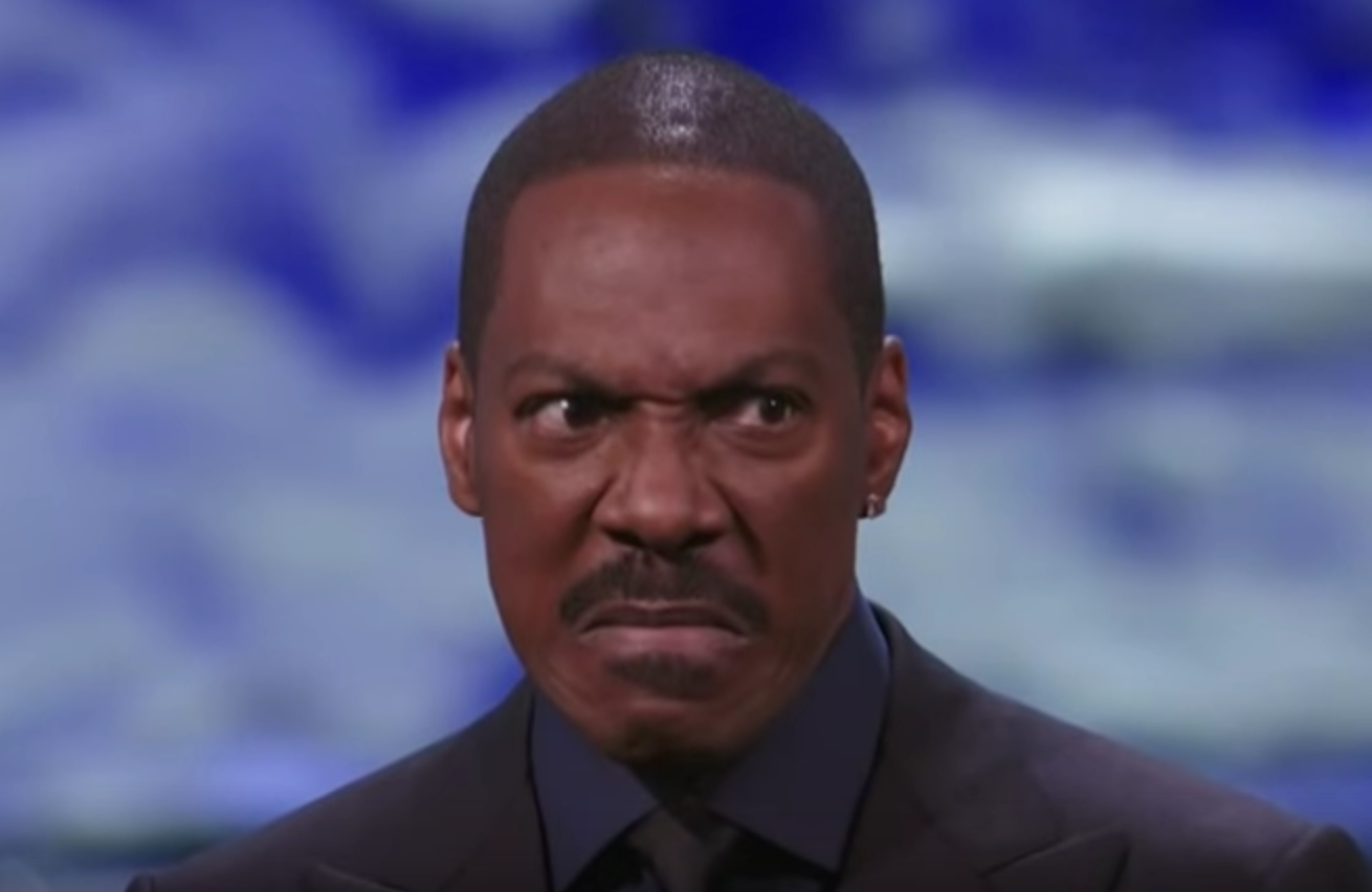 """Eddie Murphy receives his Mark Twain Prize: """"Did y'all make Bill give his back?"""""""