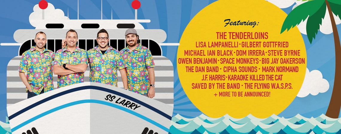 Impractical Jokers celebrate renewal for season 5 on truTV by kicking off 2016 with guest comedians on an Impractical Jokers Cruise