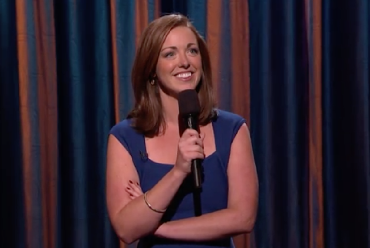 Megan Gailey's late-night debut on Conan