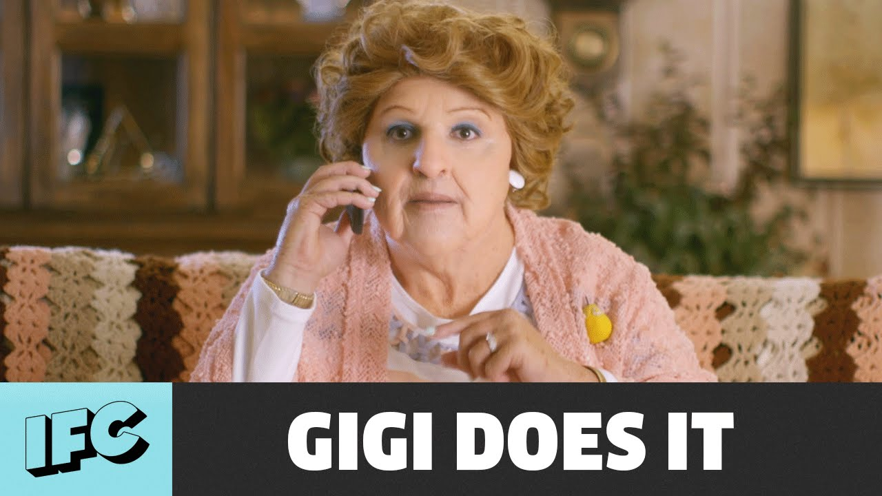 "Watch makeup artists turn David Krumholtz into 76-year-old Gigi for IFC's ""Gigi Does It"""