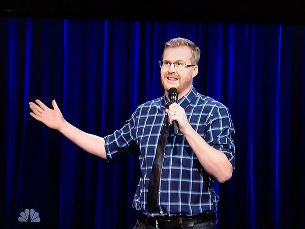 Kurt Braunohler on The Tonight Show Starring Jimmy Fallon