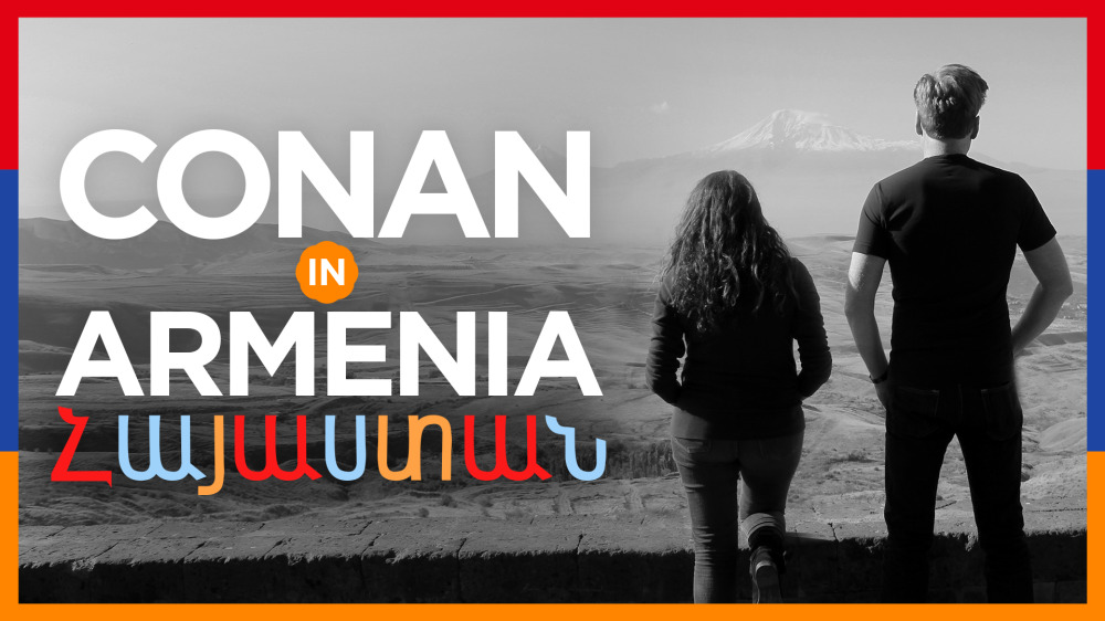 "Preview ""Conan In Armenia,"" airing Tuesday on TBS #ConanArmenia"