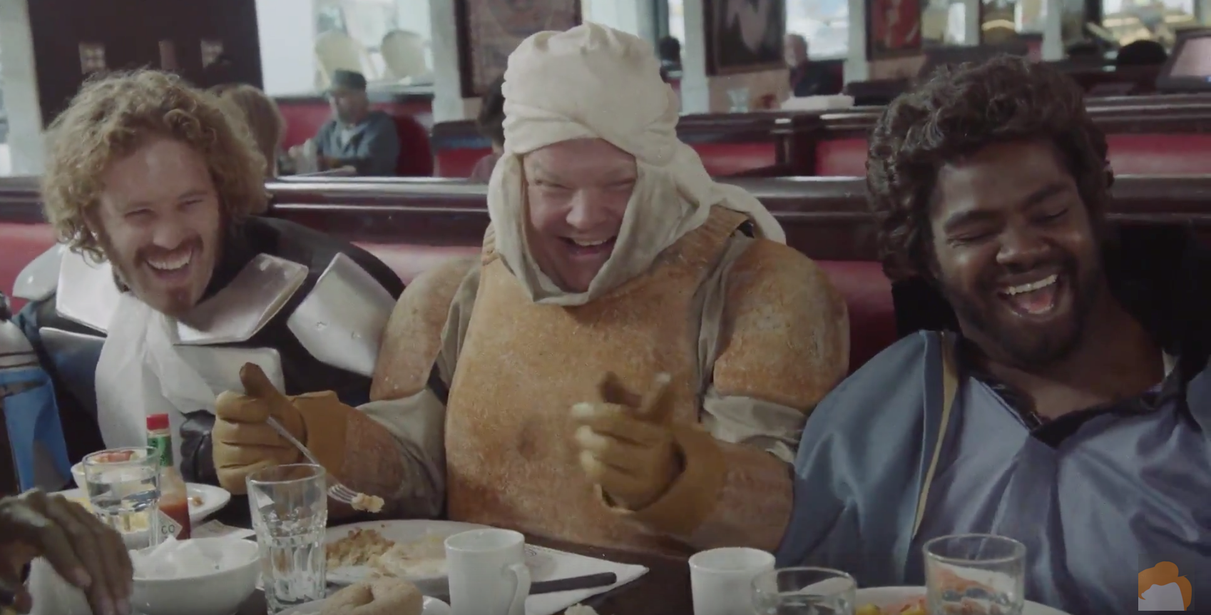 "TJ Miller, Ron Funches and Aisha Tyler populate Conan's ""Star Wars"" diner"