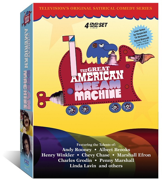 "Reliving ""The Great American Dream Machine,"" on PBS from 1971-1972, and now on DVD"