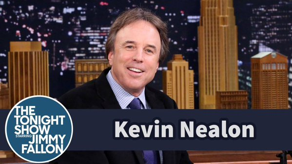 Kevin Nealon on The Tonight Show Starring Jimmy Fallon