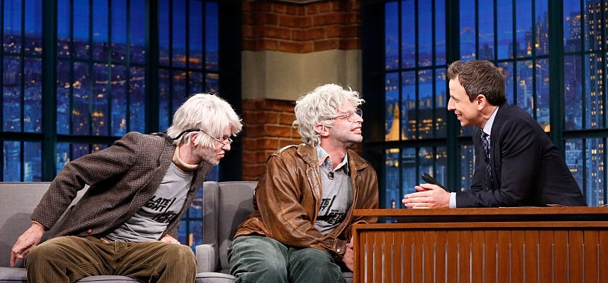 """""""Oh, Hello"""" has its moment as Gil Faizon and George St Geegland draw rave Off-Broadway reviews, big names and hit """"Late Night"""" TV"""