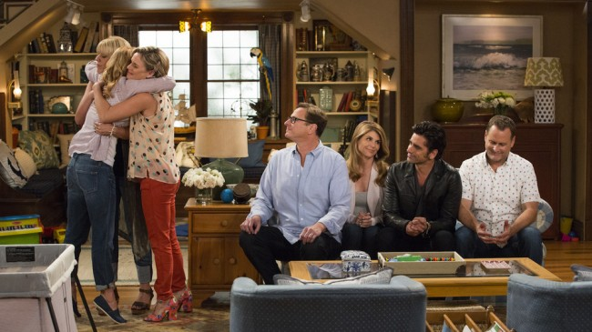 "Behind the scenes of the ""Fuller House"" Full House reunion for Netflix"