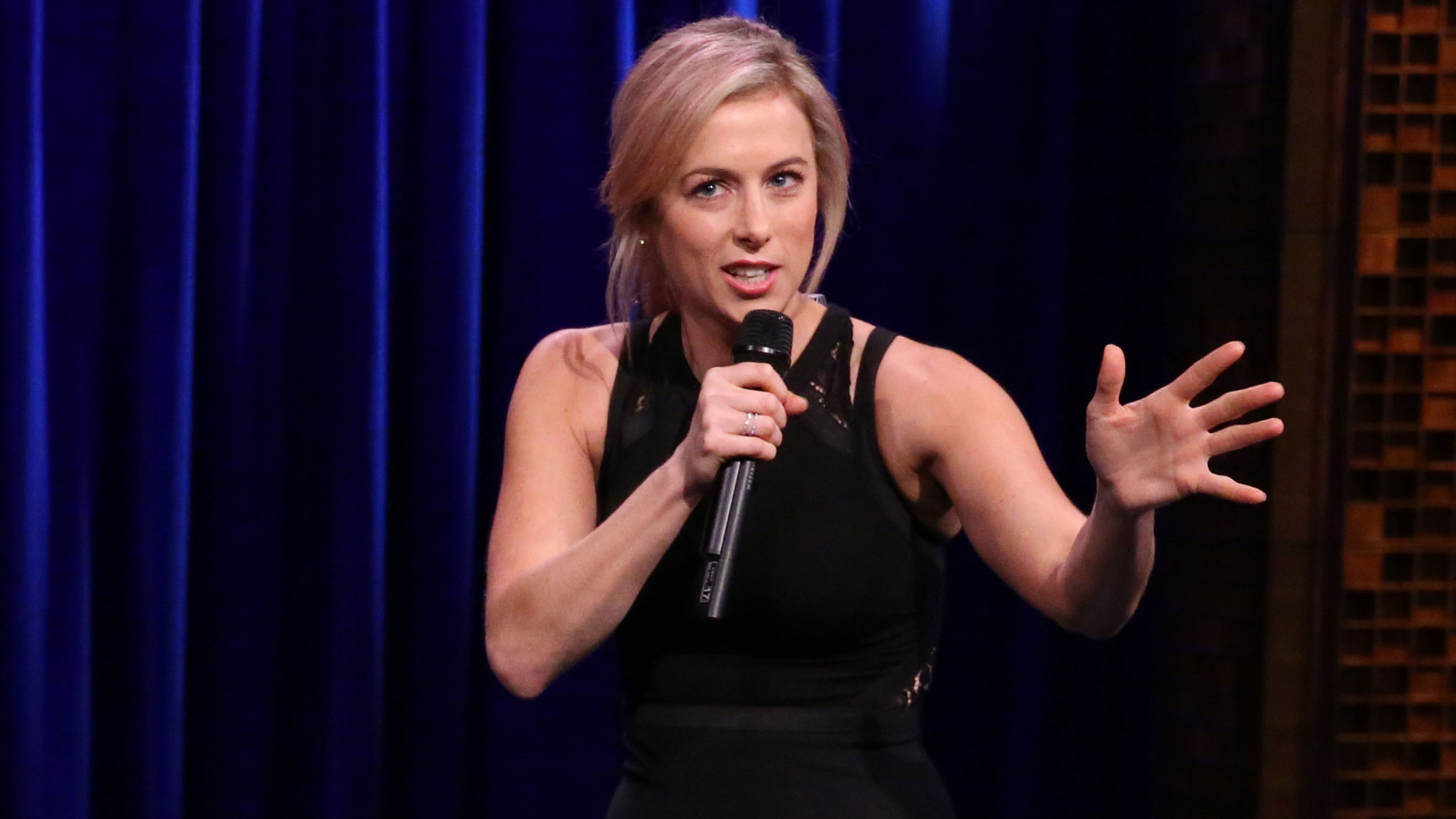 Iliza Shlesinger's third performance on The Tonight Show Starring Jimmy Fallon